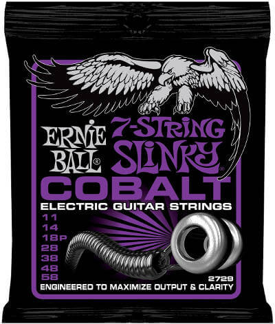 Ernie Ball Cobalt 7 String set