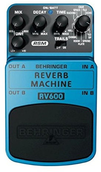 Blues Reverb Pedal