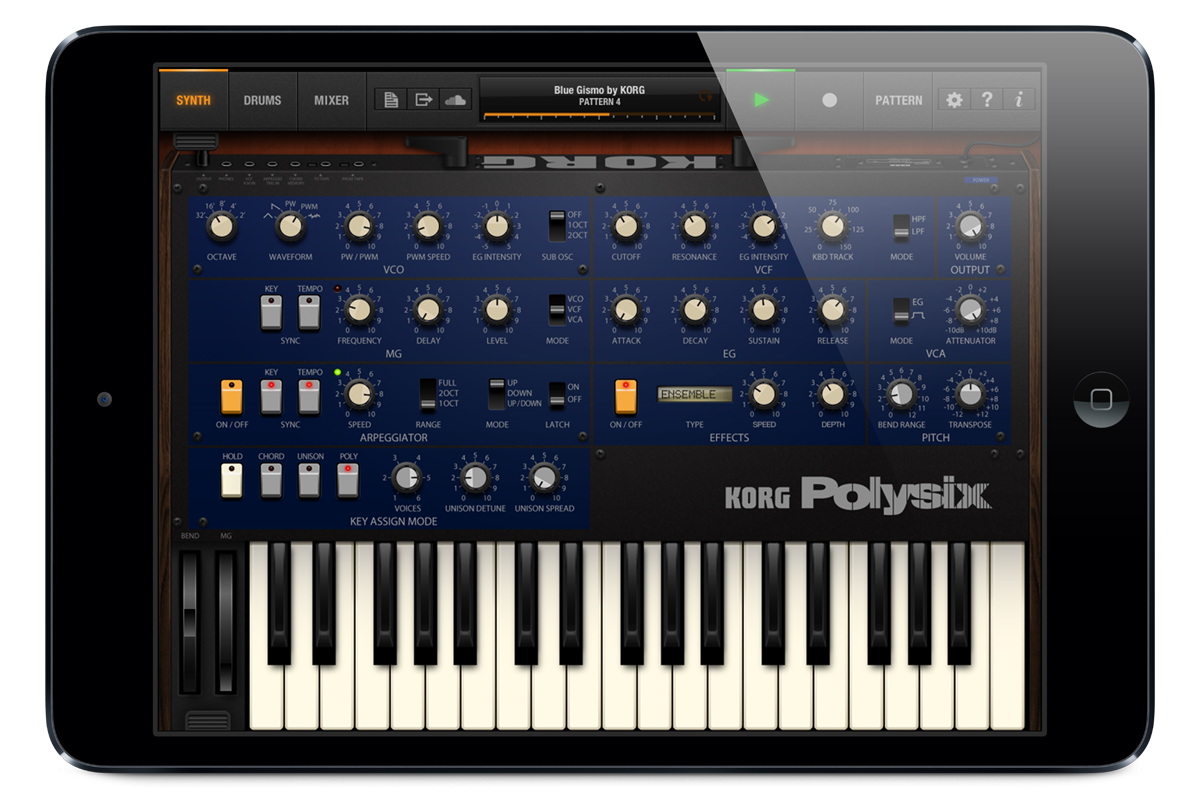 Korg iPolysix Review